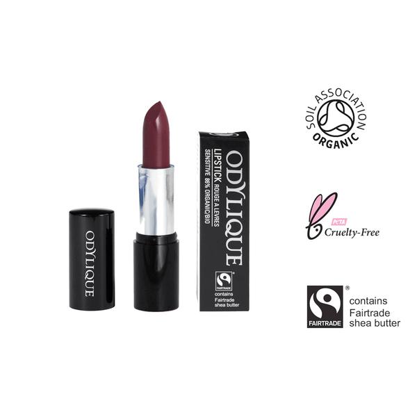Organic Mineral Lipstick #20 - Blackberry Smoothie