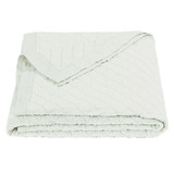 Sea Foam Linen Quilt - Full/Queen
