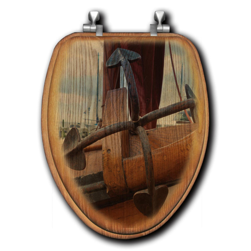 Rusted Anchor Toilet Seats