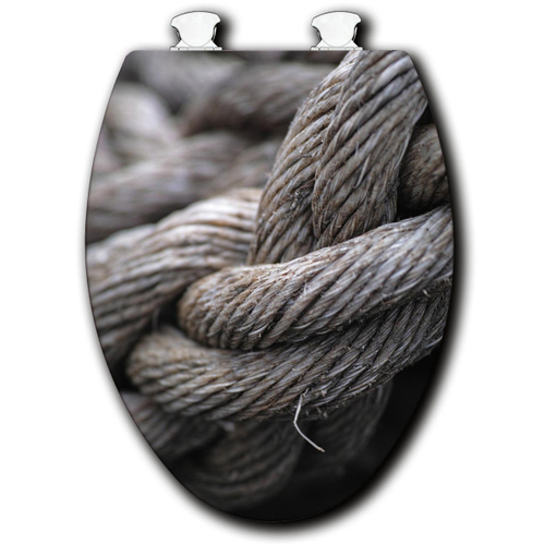 Knotty Rope Toilet Seats