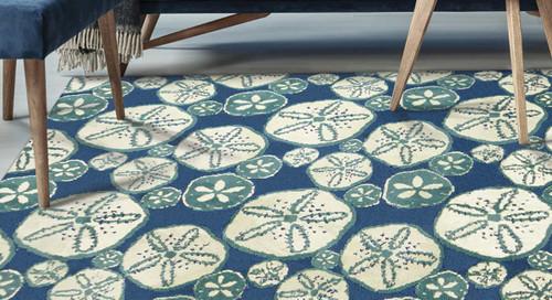 Sand Dollar Sea Indoor/Outdoor Rug Collection