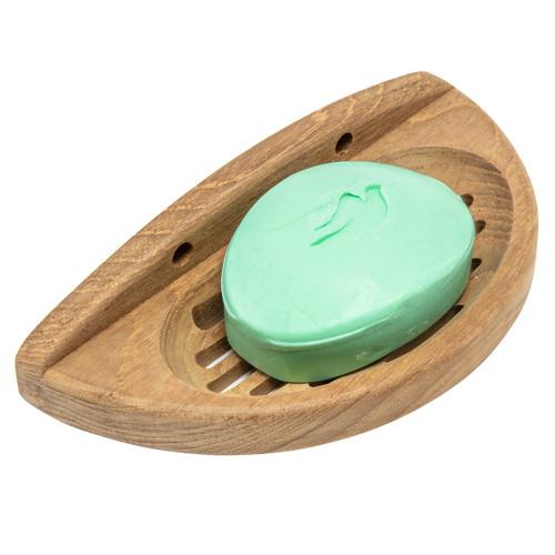 Teak Oval Soap Dish