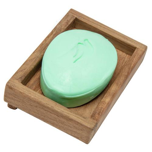 Teak Rectangular Soap Dish