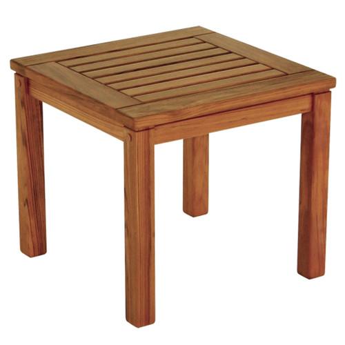 Teak Square Indoor/Outdoor Side Table