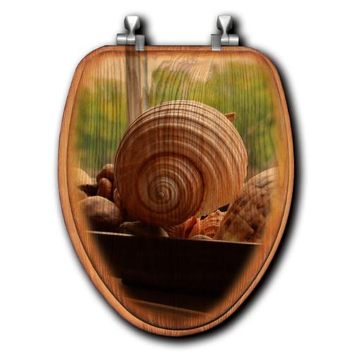 Spiral Shells Toilet Seats