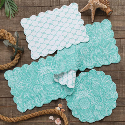 Turquoise Bay Table Linens