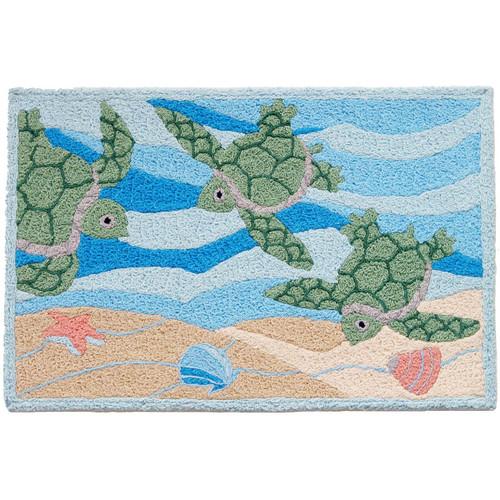 Turtle Trio Indoor/Outdoor Rug