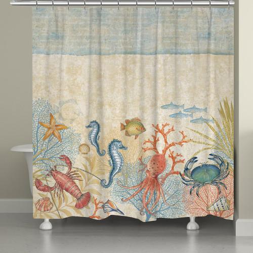 Undersea Fun Shower Curtain