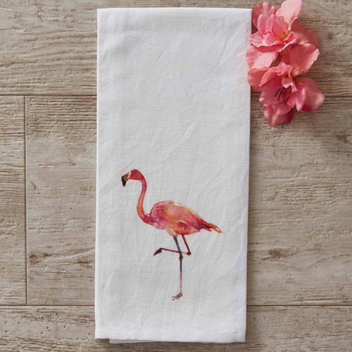 Waimea Flamingo Dishtowels - Set of 6