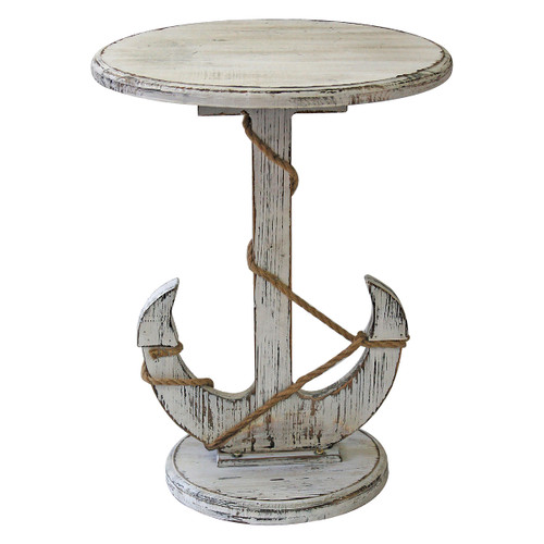 Anchored at Sea Accent Table