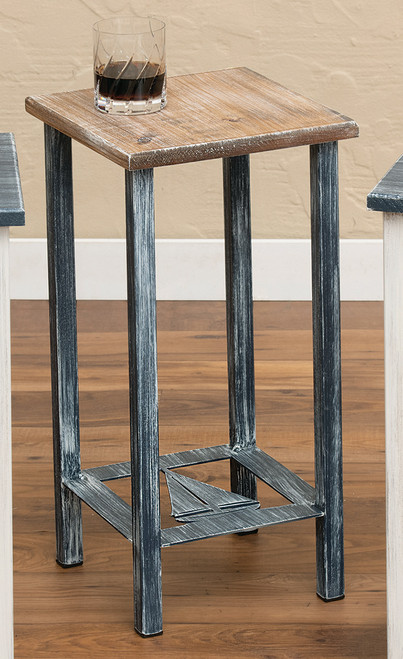 Weathered Sailboat Accent Table