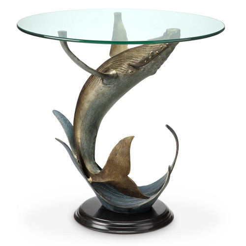 Whale End Table - BACKORDERED UNTIL 11/23/2021