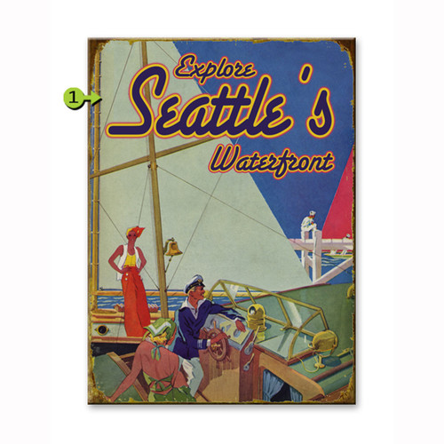 Explore the Waterfront Personalized Signs