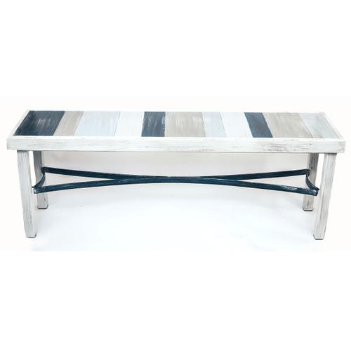 Azure Boardwalk Bench - 48 Inch