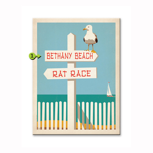 Rat Race Personalized Signs