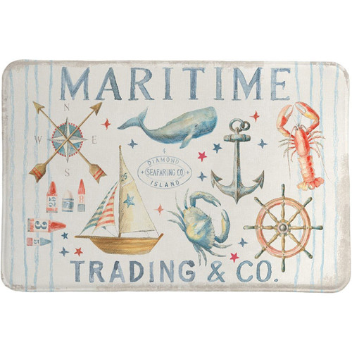 Maritime Trading Memory Foam Rug