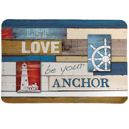 Anchored in Love Comfort Mat
