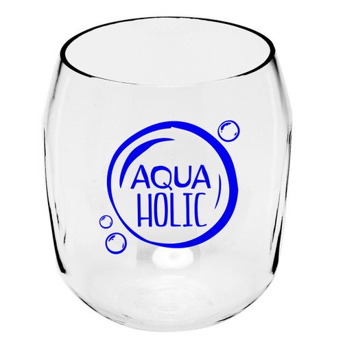 AquaHolic Wine Tumblers - Set of 4