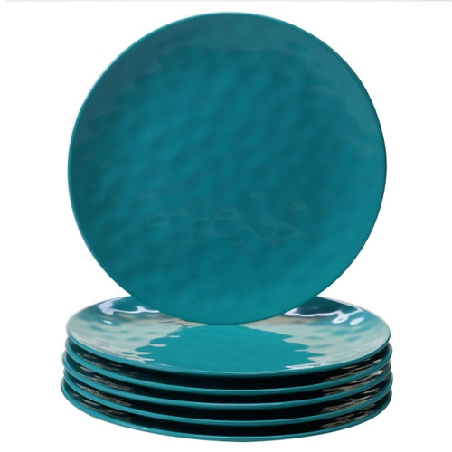 Rippled Turquoise Dinnerware Collection