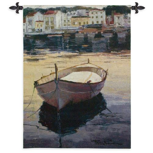 Barca al Contraluz Wall Tapestry