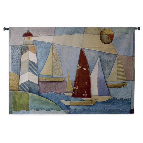 Bay Regatta Wall Tapestry