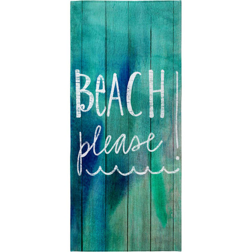 Beach Attitude Beach Towel