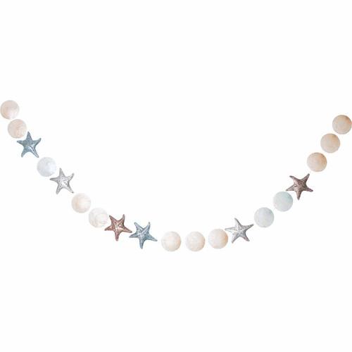 Beach Starfish Bubbles Garland