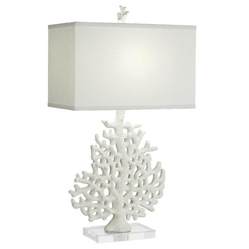 Bermuda Coral Table Lamp