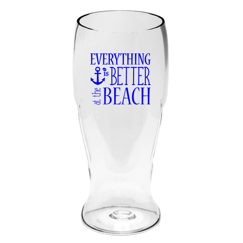 Better at the Beach Beer Tumblers - Set of 4