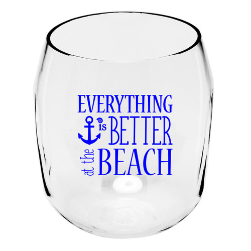 Better at the Beach Wine Tumblers - Set of 4