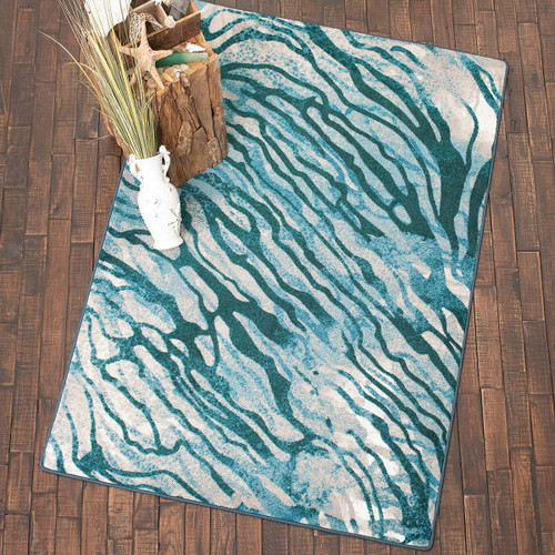 Azul Water Reflections Rug Collection