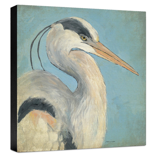 Blue Heron Gallery Wrapped Canvas