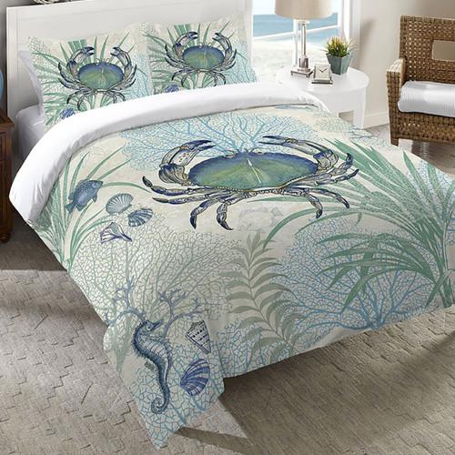 Blue Sea Life Bedding Collection