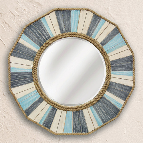 Cabot Cove Wood Frame Mirror