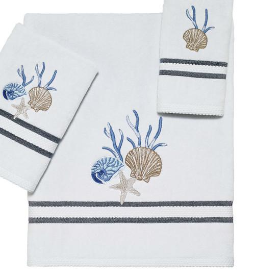Camden Shells Coastal Bath Towel