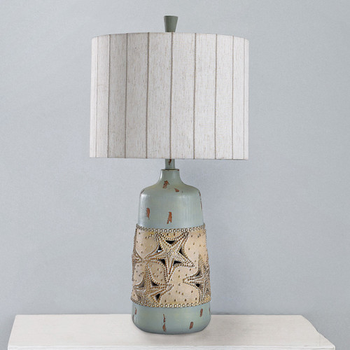 Cape Ann Starfish Table Lamp