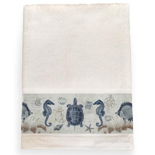 Carte Postale Bath Towel