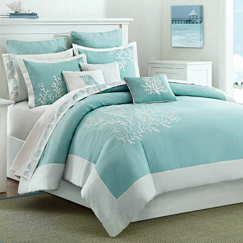 Coastal Reef 4 Piece Bed Set - King