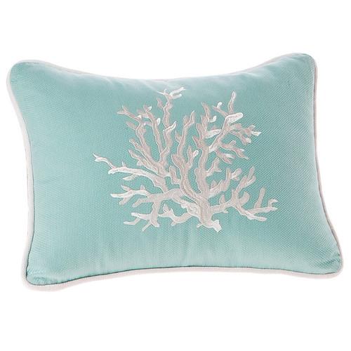 Coastal Reef Coral Pillow