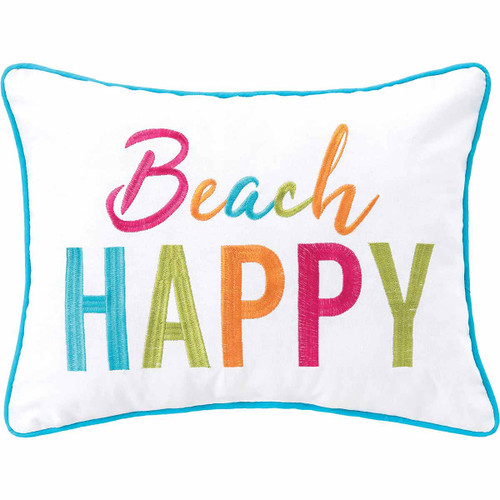 Colorful Happy Pillow - OUT OF STOCK