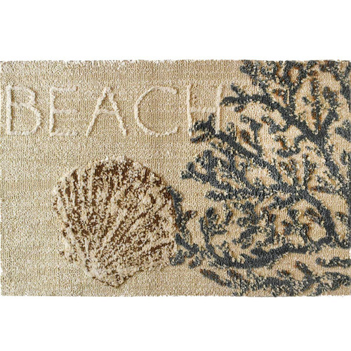 Coral & Clam Shell Rug