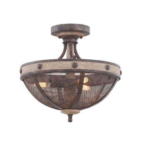 Coronado Semi-Flush Light