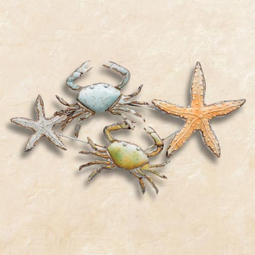Crab & Starfish Wall Art