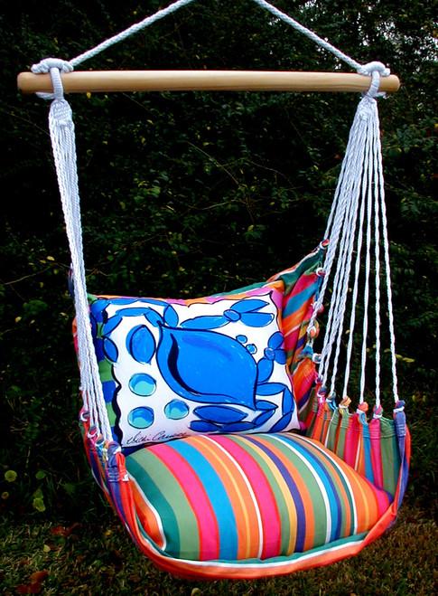 Crab Le Jardin Stripe Swing Set