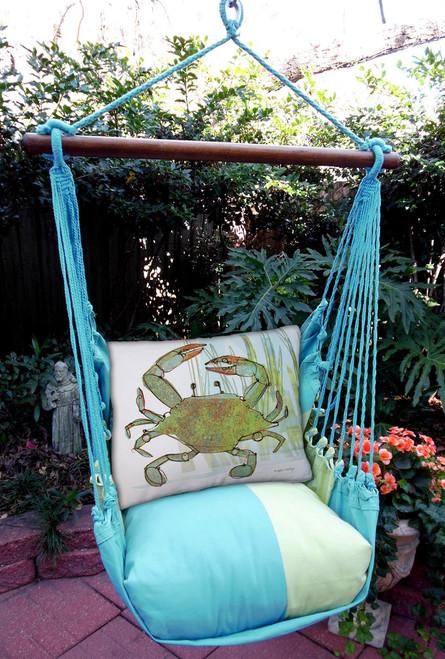 Crab Meadow Mist Stripe Swing Set