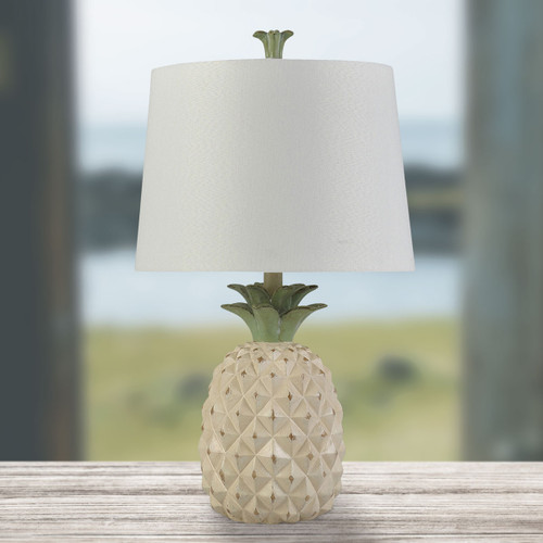 Cream Aloha Table Lamp