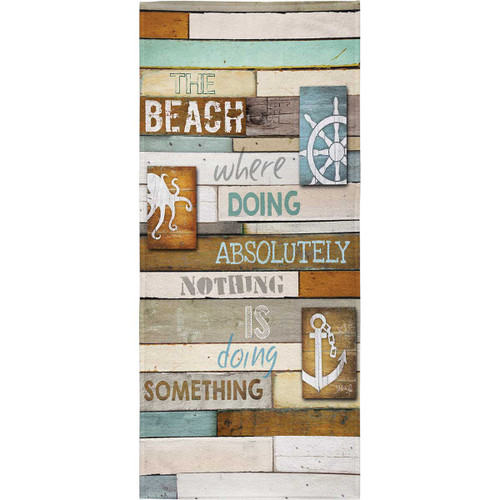 Doing Something Beach Towel
