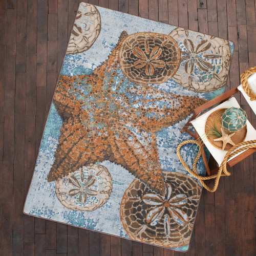 Dominican Reef Mineral Rug - 5 x 8 - OVERSTOCK