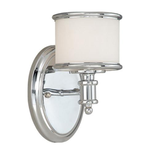 Edmonton 1 Light Vanity Lamp - Chrome