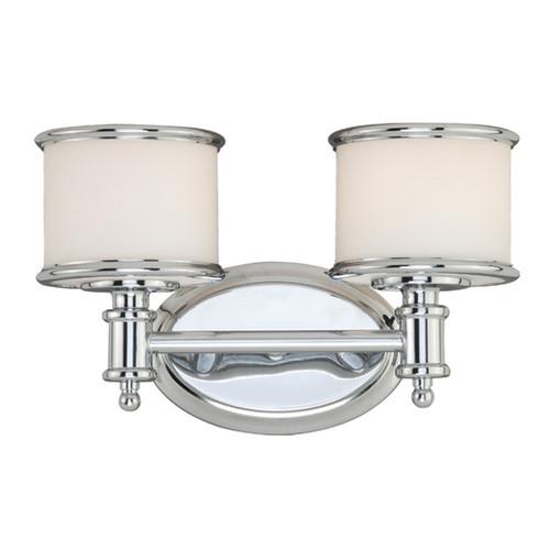 Edmonton 2 Light Vanity Lamp - Chrome